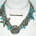 SALE Ocean Inspired Necklac..