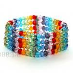 15% OFF Rainbow Beaded Brac..